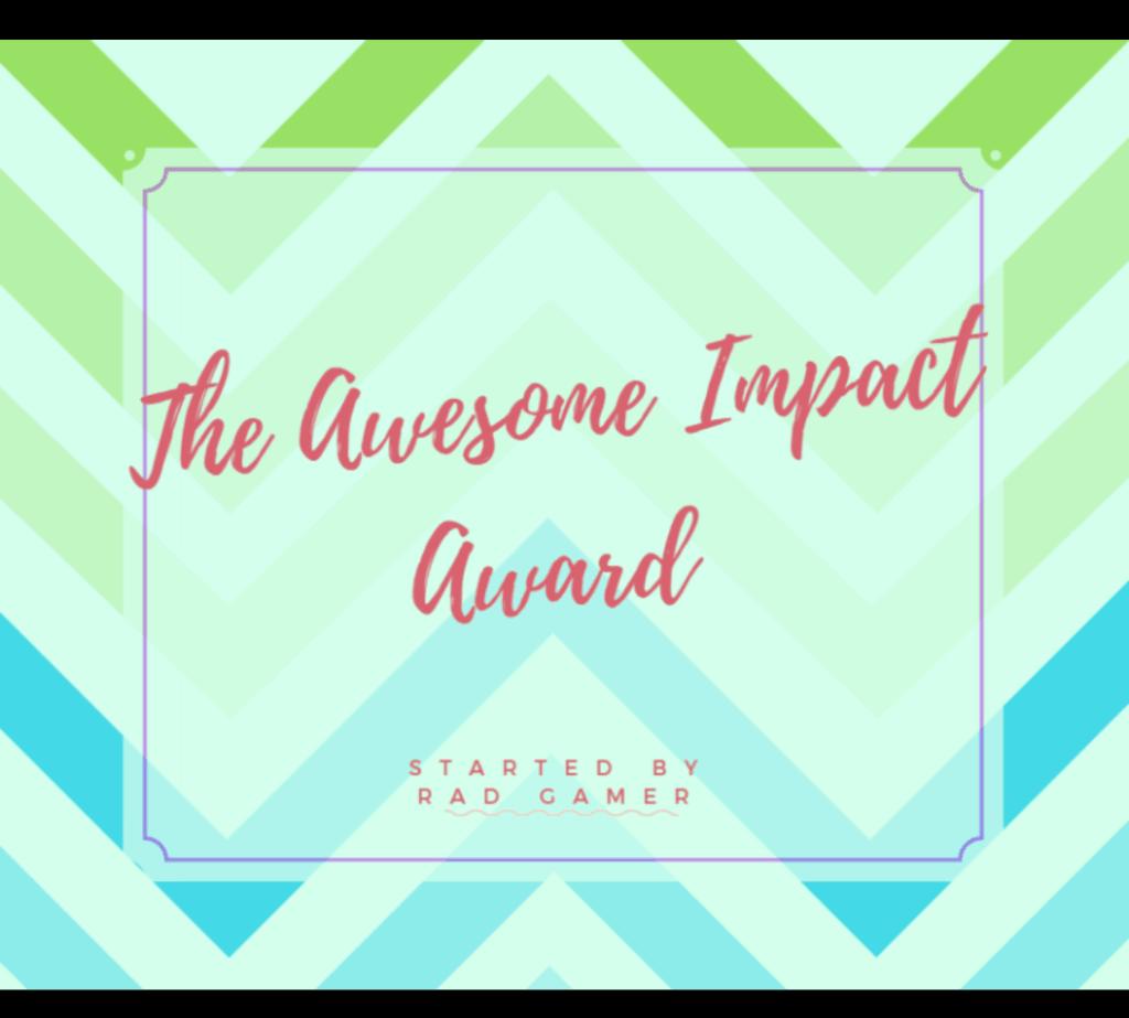 awesomeimpact award