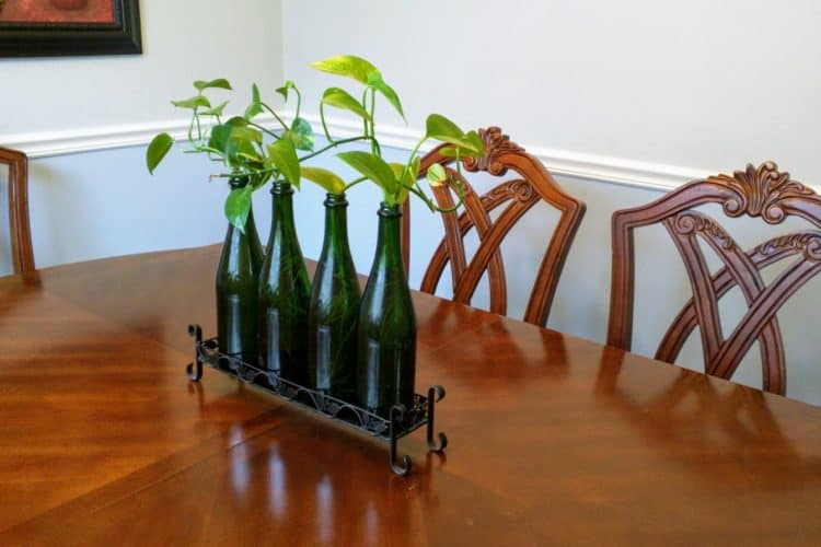 Easy DIY Centerpiece For Dining Table