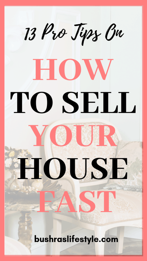 how to sell your fast