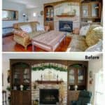 How To Update A 1970's Living Room On A Tight Budget