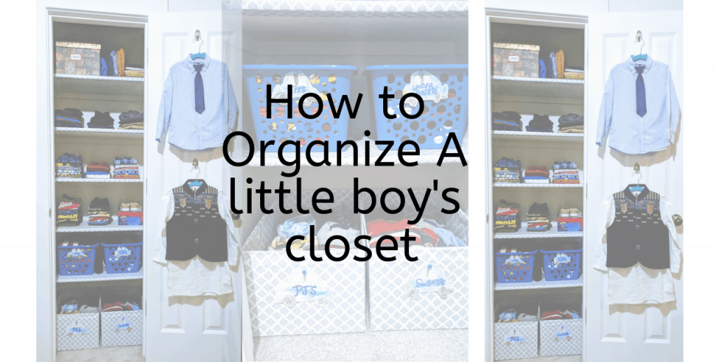 Before And After Boys Closet