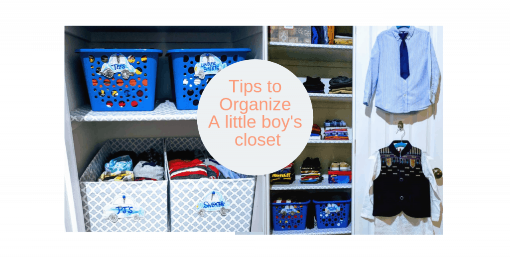 how to organize a little boys bedroom closet (4)