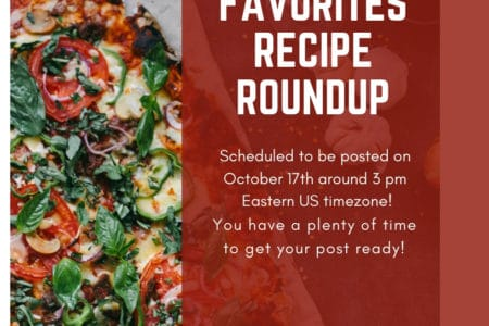 Group Participation Opportunity For A Family Favorites Recipe Roundup
