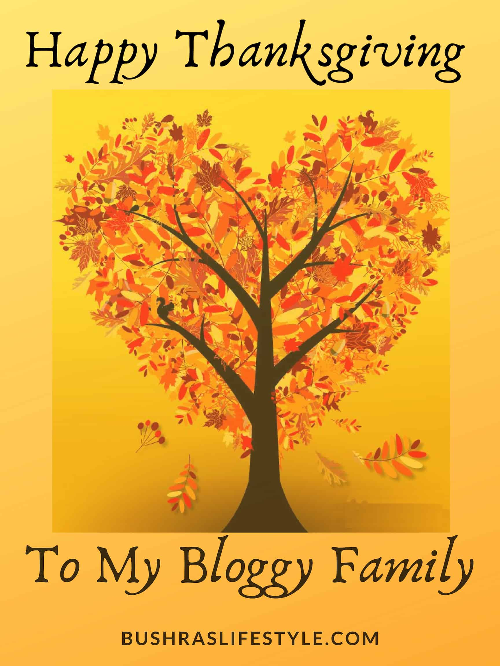 happy thanksgiving to my bloggy family