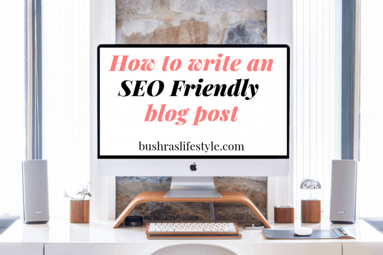 How To Write A Blog Post Per SEO (For Beginners)