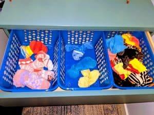 small coat closets baskets