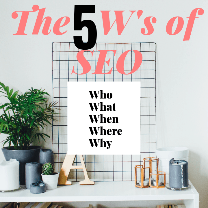 The 5 w's of SEO