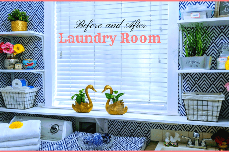 Small Laundry Room Makeover