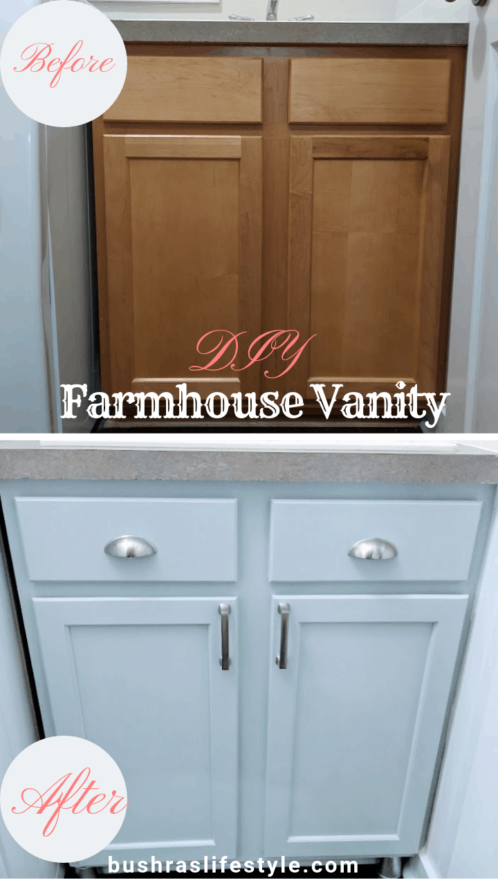 _diy farmhouse style vanity