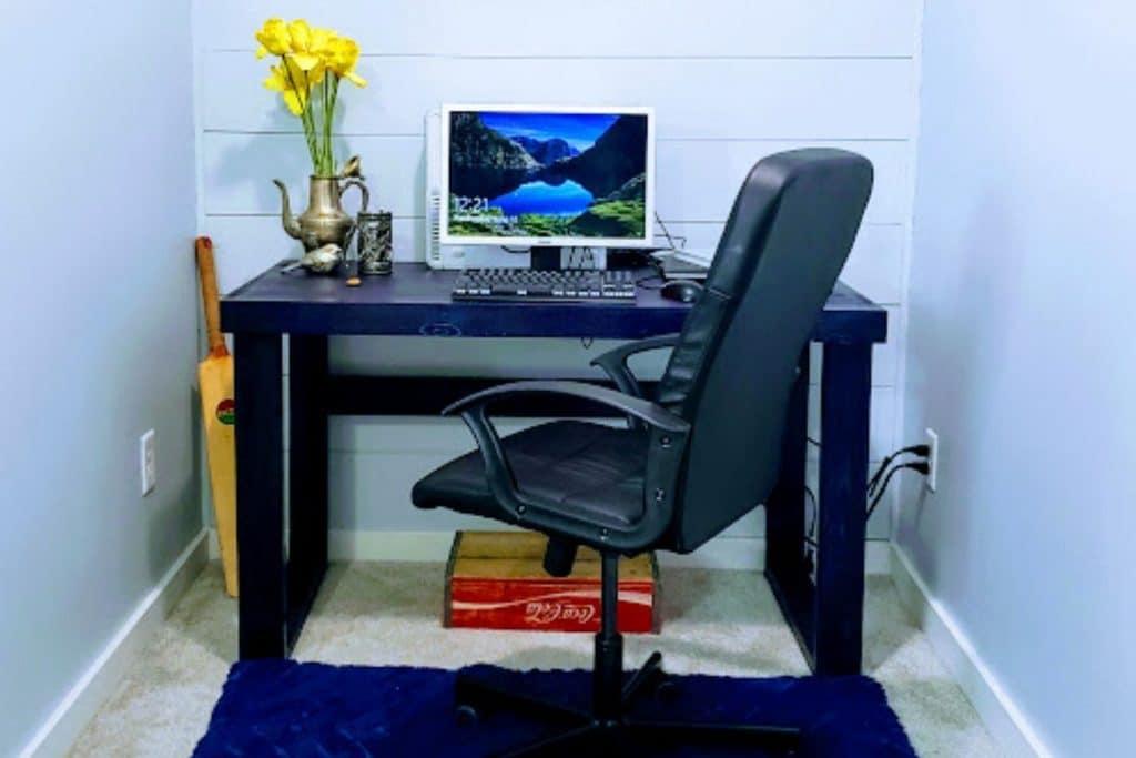 diy computer desk