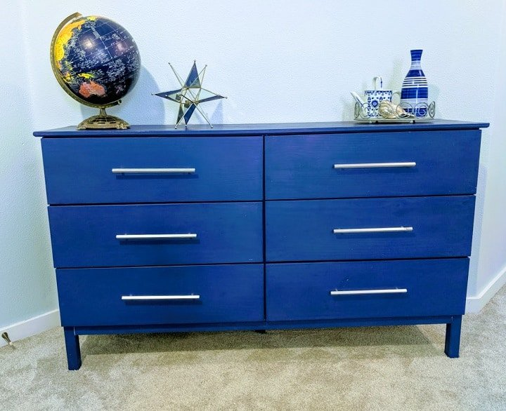 dresser with chalk paint