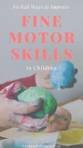 fine motor skill in kids