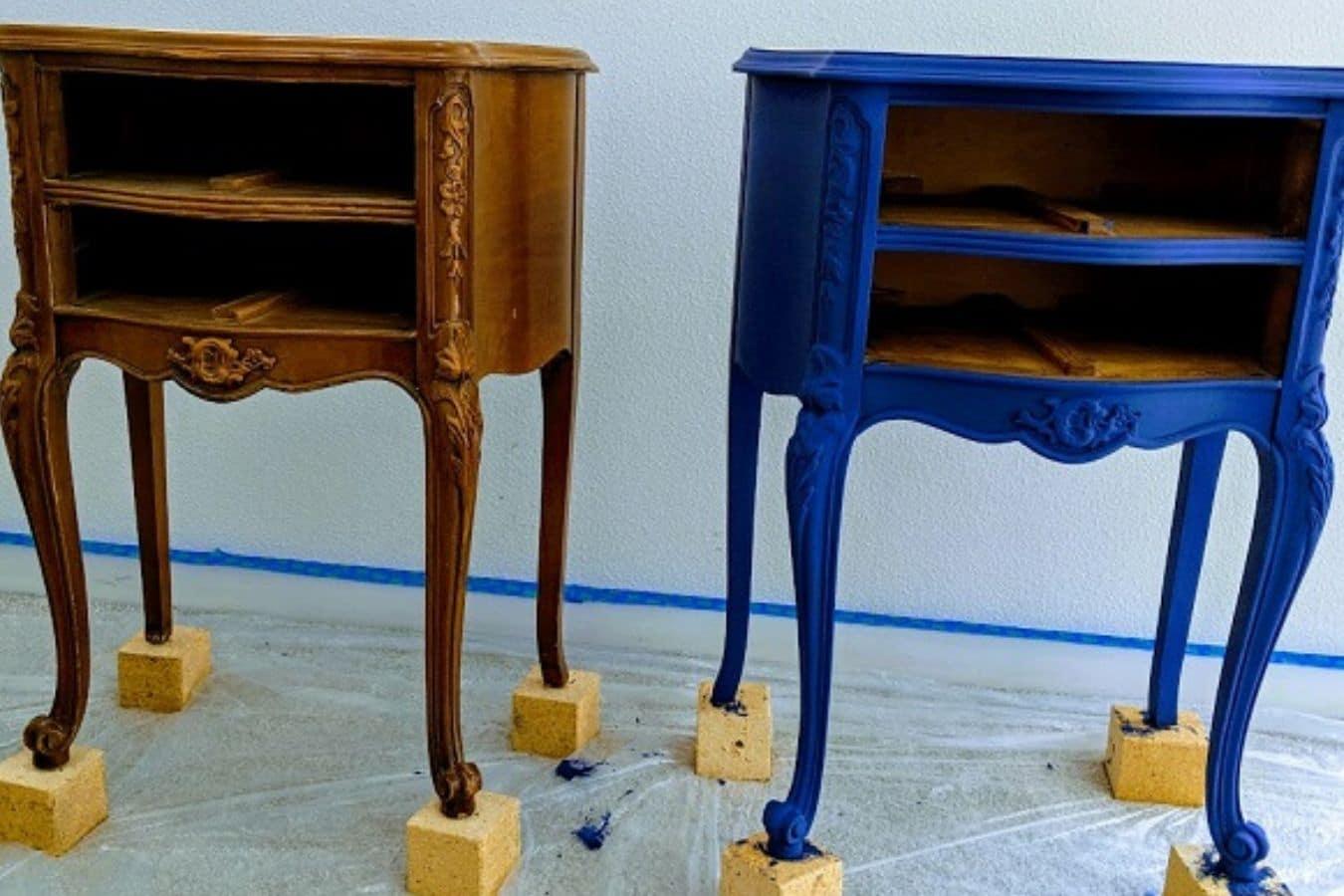 How To Chalk Paint Furniture Plus Chalk Paint Recipe