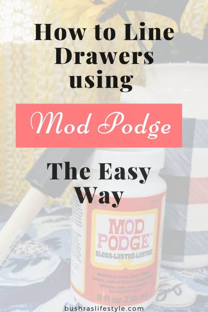 mode podge liner
