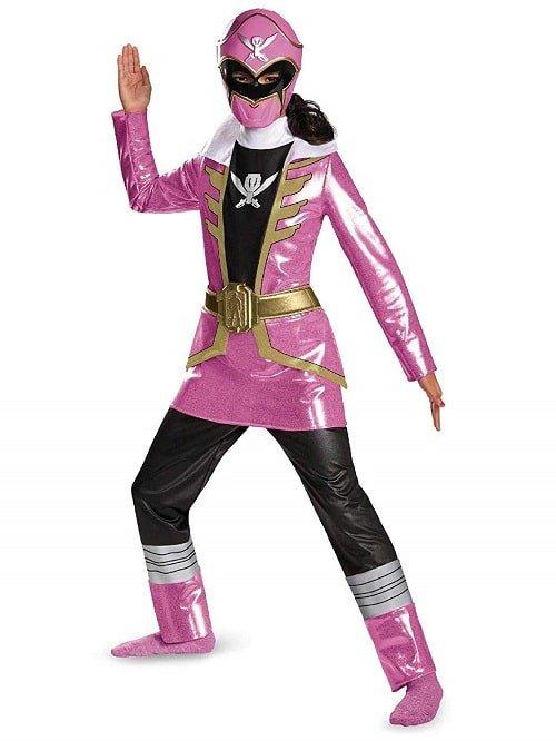 Pink Power Ranger Halloween Costumes