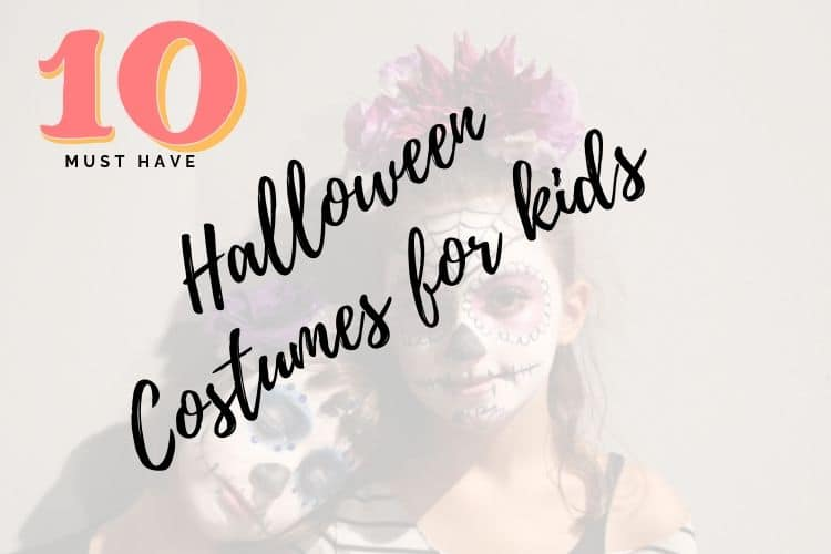 10 Classic Halloween Costumes For Kids