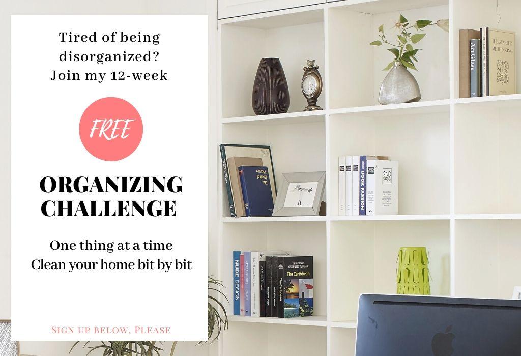 Organizing challenge