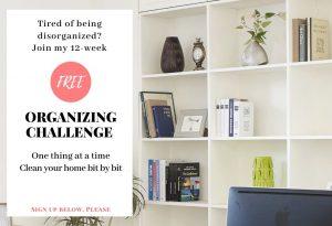 free organizing course