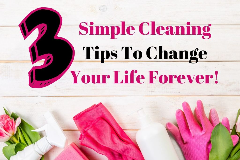 Simple Cleaning Tips To Change Your Life Forever! (2)