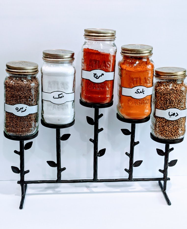 diy spice rack cheap and easy