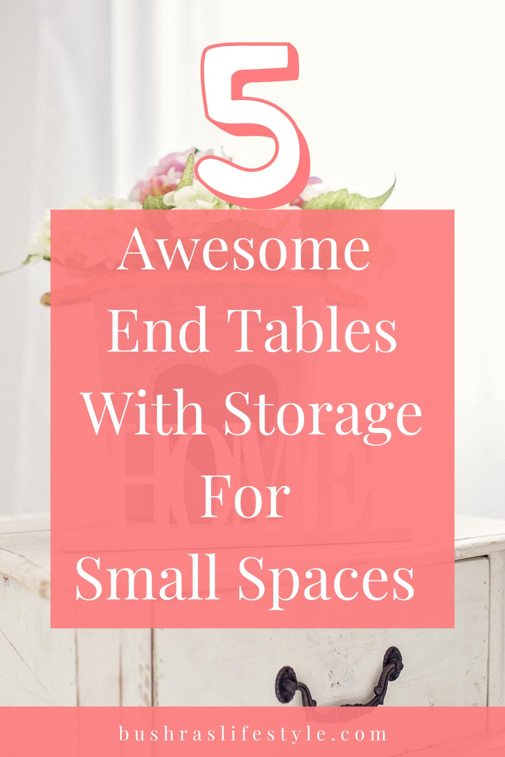 end tables with storage for small sapces