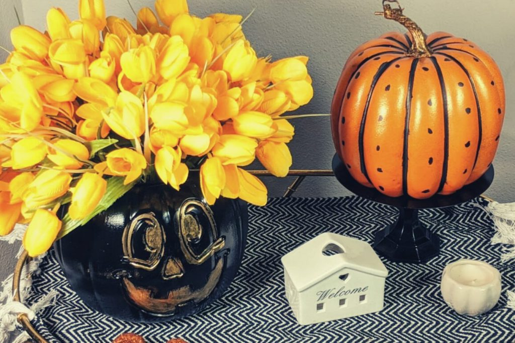 dollar tree fall decor