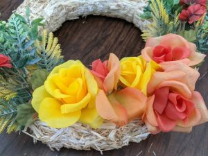 dollar tree fall wreath decor