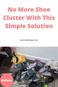shoe organization hacks