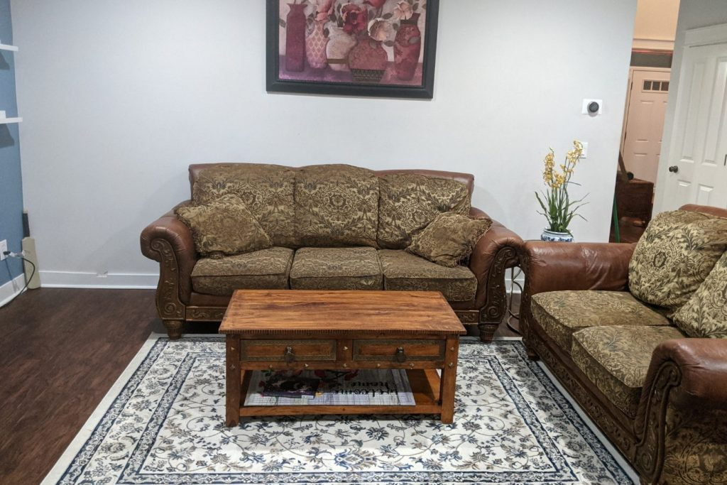 traditional living room decor