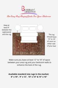 the easy bedroom rug guide