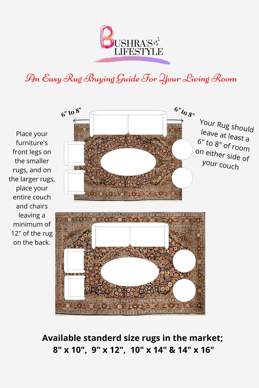 What size rug should I buy for my living room